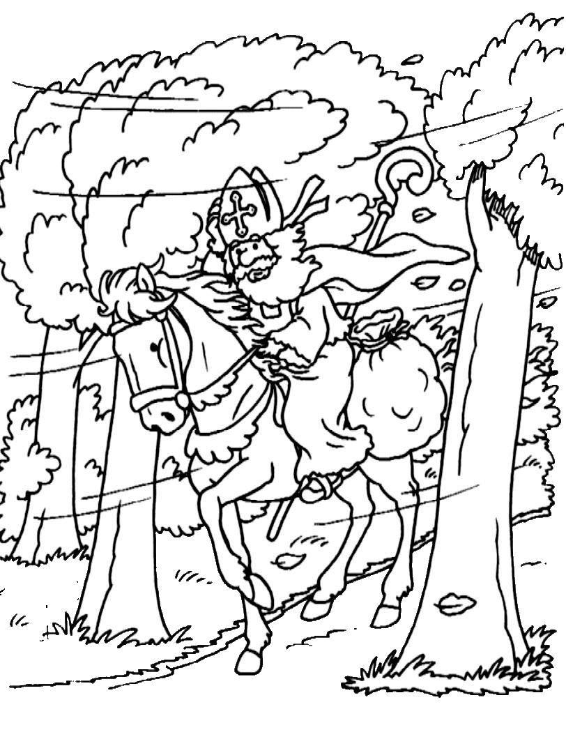 Stijn Kleurplaat Sinterklaas Pin Van Manon Op Sinterklaas Sinterklaas Kleurplaten En