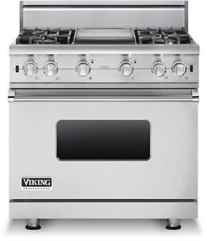 viking vgcc5364gss 36 inch pro style gas range with 4 vsh pro sealed rh pinterest com Professional Stoves for Home Use viking professional gas stove parts