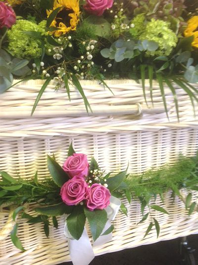 Instructions On How To Decorate A Woven Willow Wicker Or Bamboo