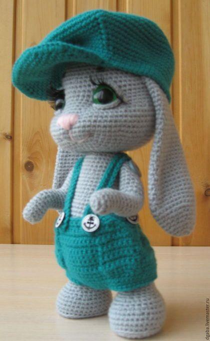 Conejo con gorra | Amigurumis | Pinterest | Conejo, Patrones ...