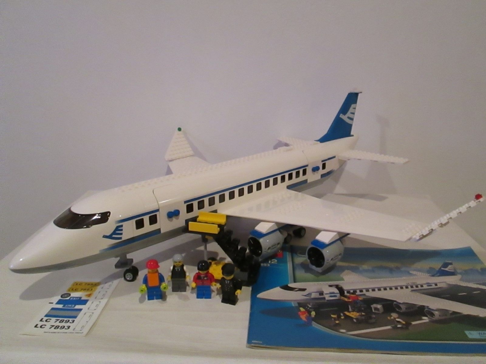 Lego City Set 7893 Passenger Plane 100 Complete W Instructions