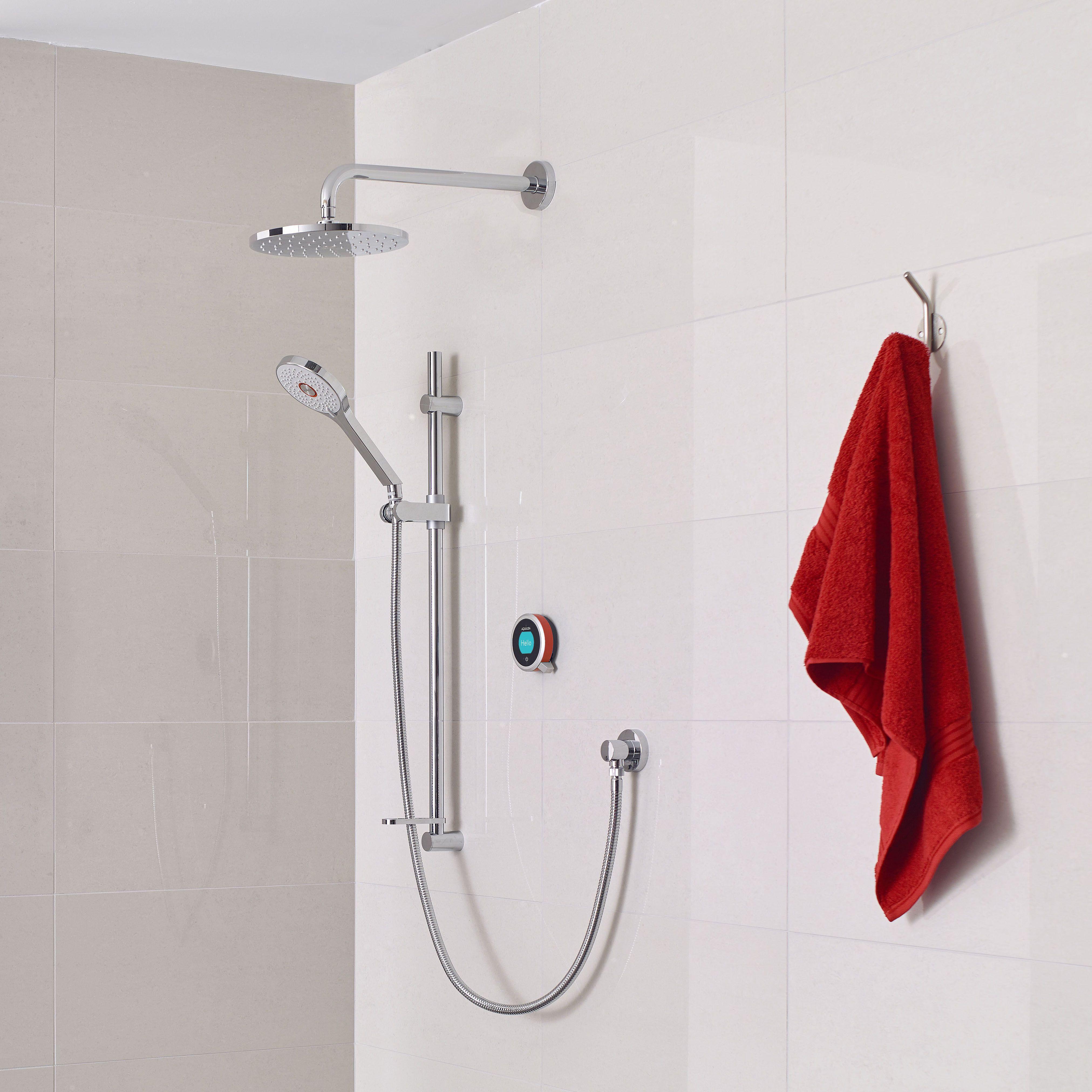 Aqualisa q thermostatic shower concealed adjustable