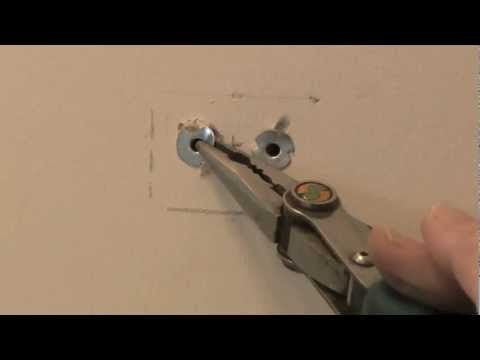Metal Wall Anchor Removal Youtube Wall Anchors How To Remove
