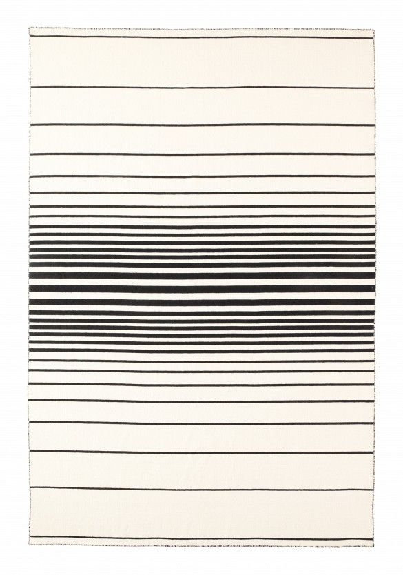 Ikea Rug Black And White Stripes