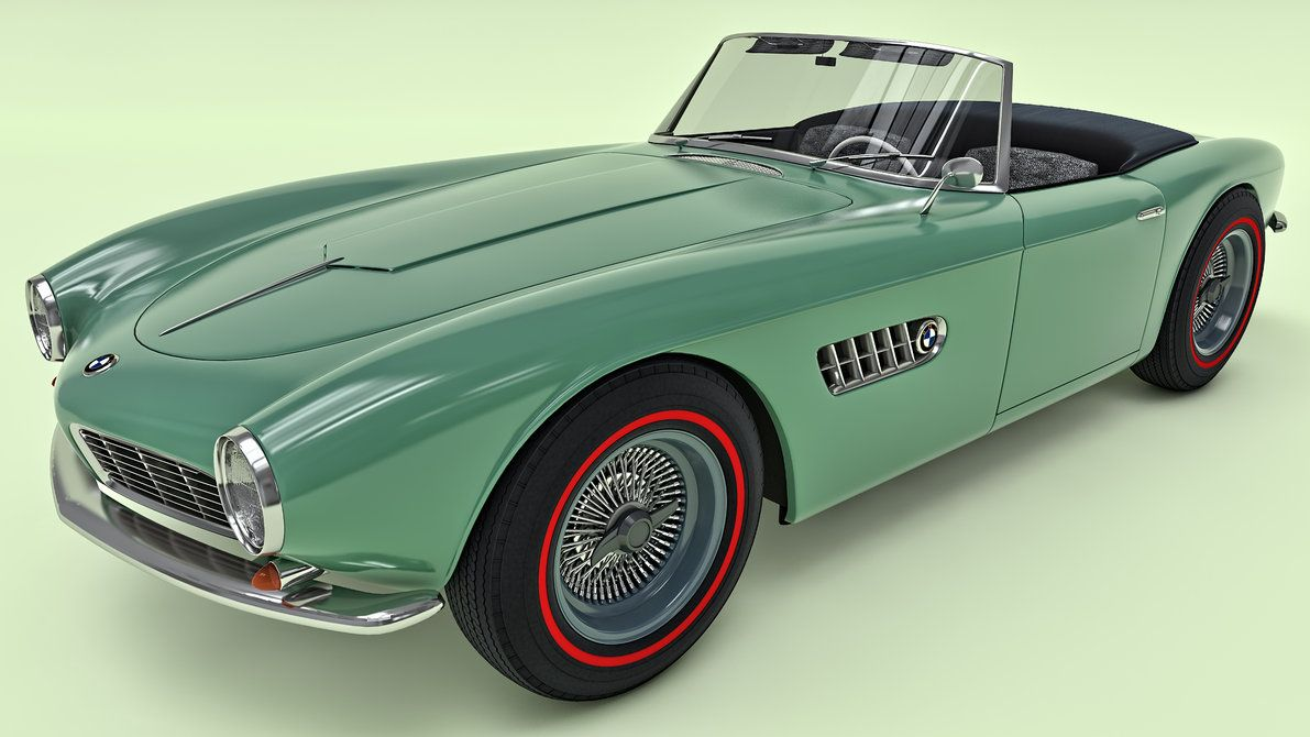 BMW 507 by SamCurry