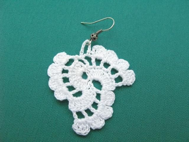 Tutorial Crochet Earrings Pattern | Pinterest | Patrón pendientes de ...