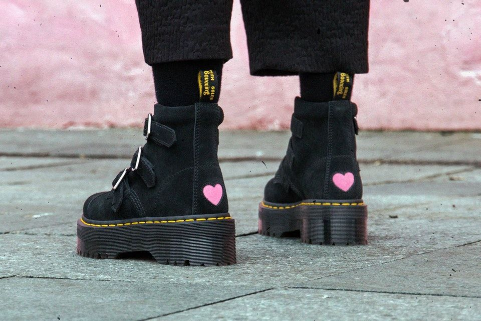 Dr. Martens collaborates with Lazy Oaf for SS18 | Twin