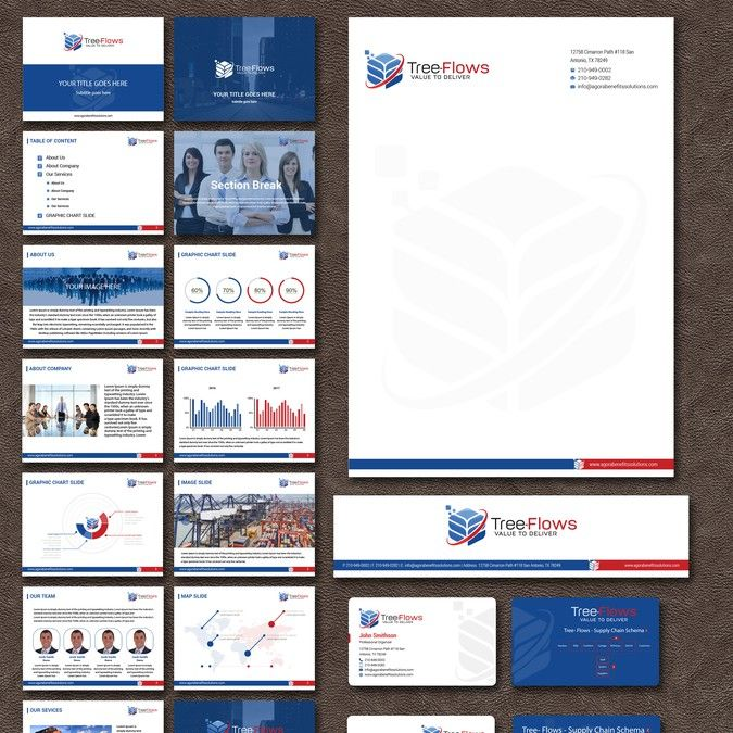 Business Cards and Stationary Supplies for Supply Chain Consultants by Alex Etel