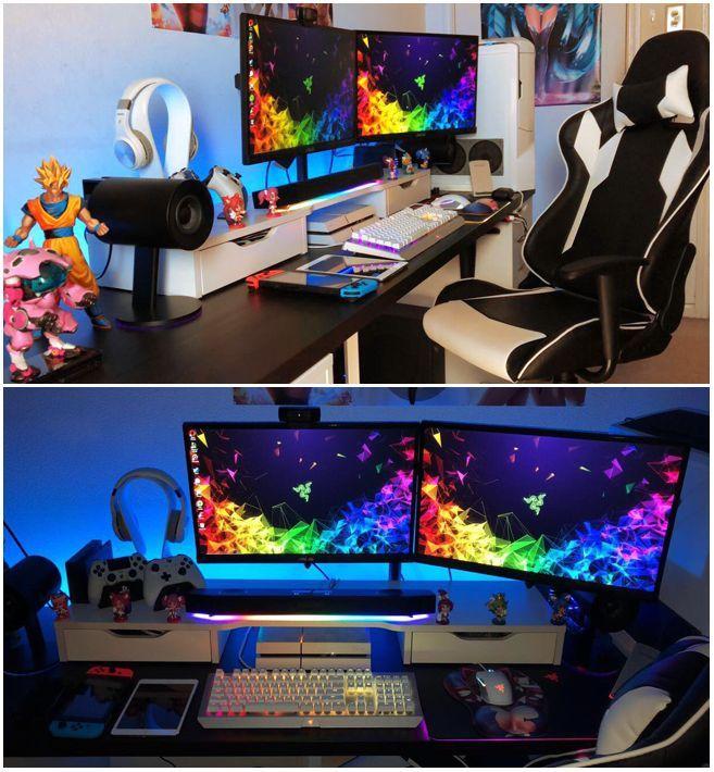 Das semi-komplette Gaming-Setup wird im November minimalistisch sein #gaming #komplette #minimalistisch #november #setup, #gamingsetup