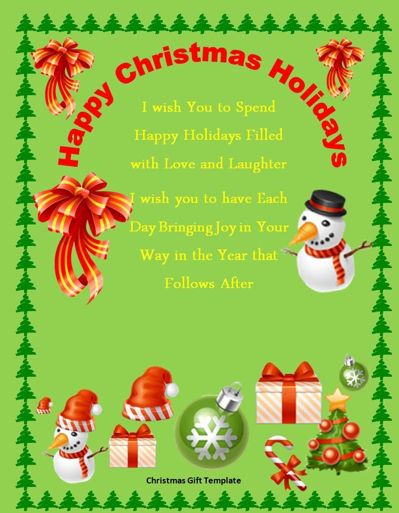 Free Christmas Invitation Templates Microsoft Word Free
