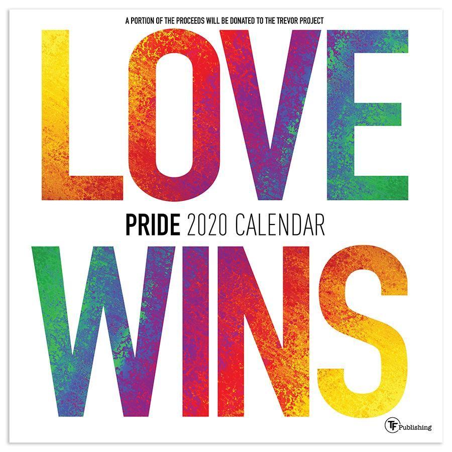 Pride Wall Pride Month Calendar Wall Calendar Calendar