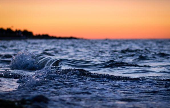 Wallpaper Macro Nature Sea Water Ocean River Wave Waves Night Wallpapers