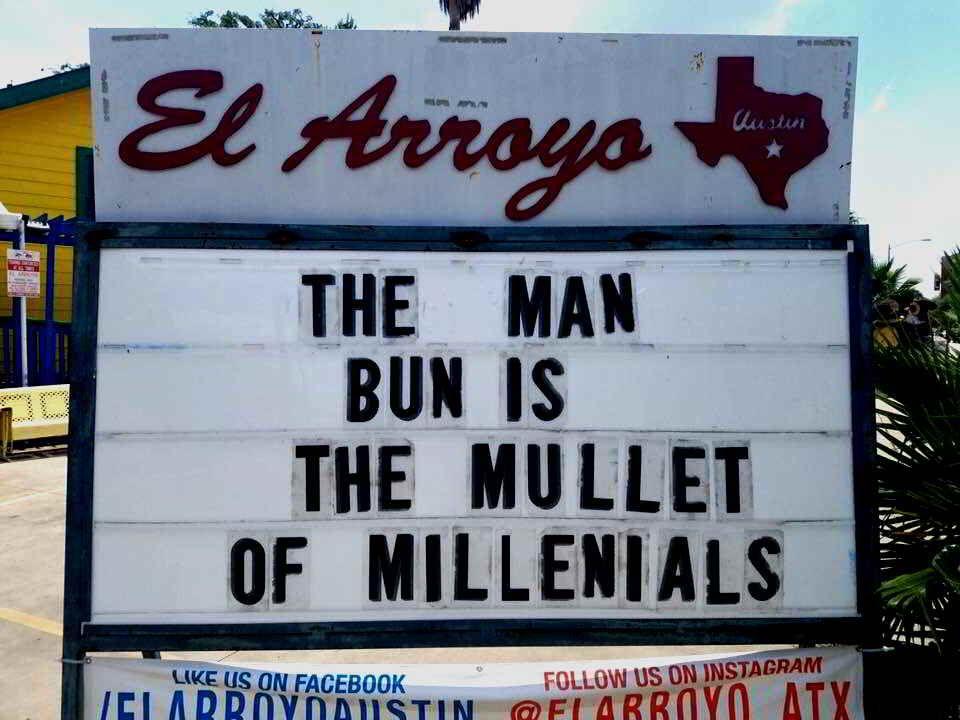 Man Bun vs Mullet in 2020   Fun quotes funny, Haha funny ...