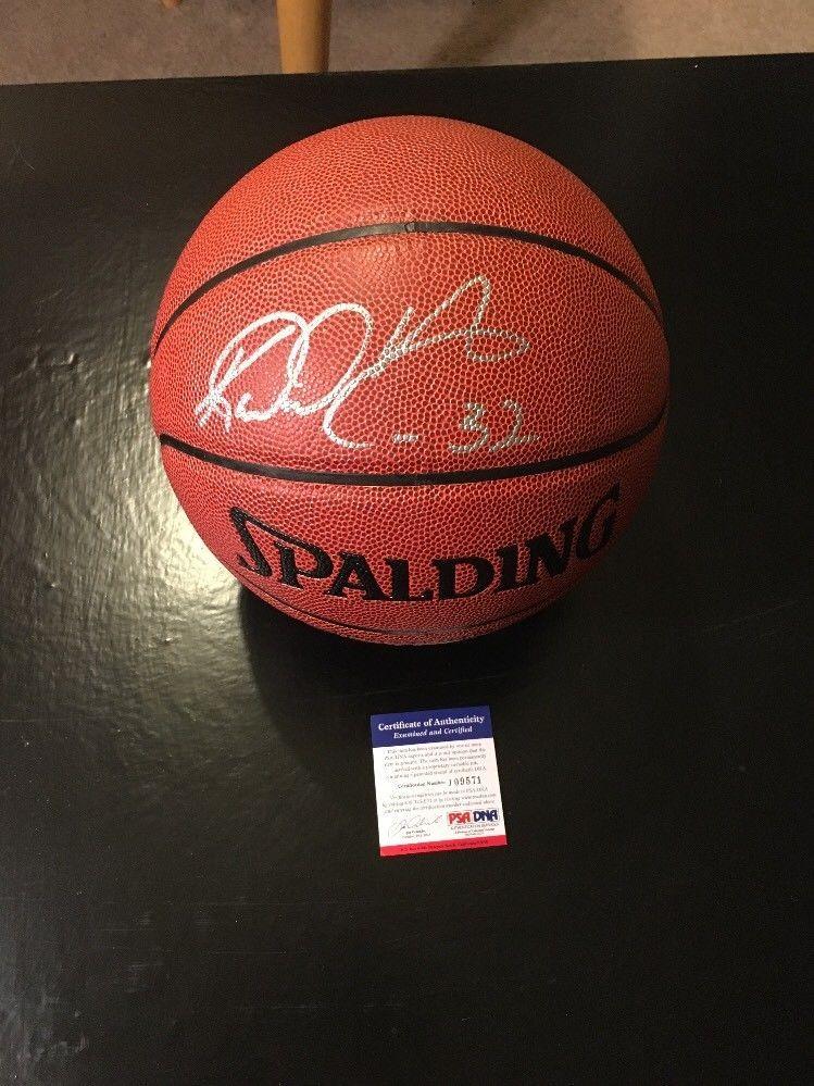 cba04866119 Karl Malone Jazz HOF Auto Autographed Basketball Ball PSA Certified (eBay  Link)