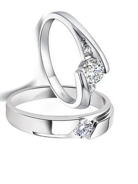 white gold wedding ring designs