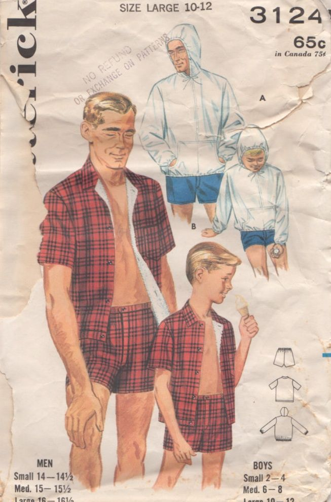 Men\'s Vintage Gay sewing Patterns, Fashion illustration. | human ...
