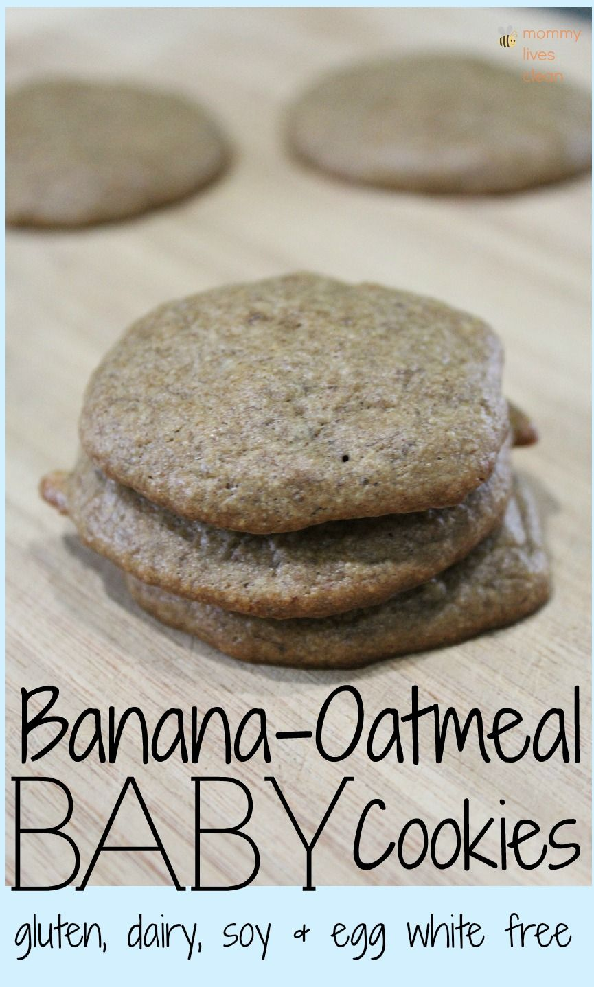Allergy free recipe for homemade healthy banana oatmeal baby food allergy free recipe for homemade healthy banana oatmeal baby food cookies gluten free forumfinder Gallery