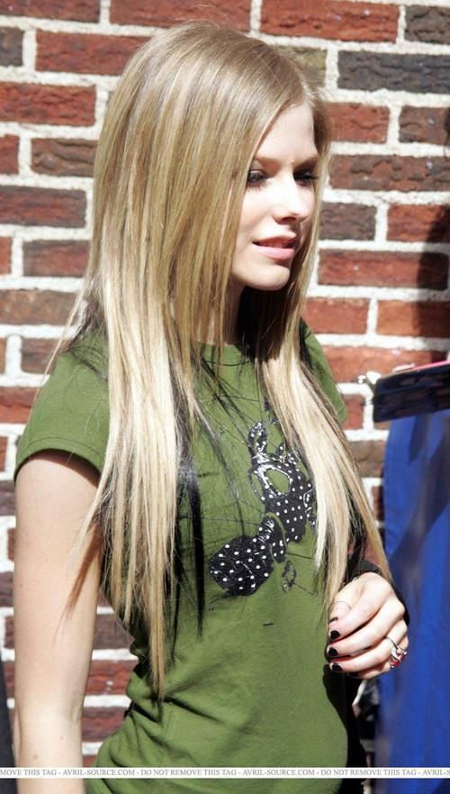 Hair Color Avril Lavigne Style Avril Lavigne Hair Styles