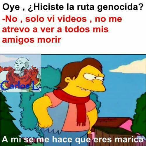 》Boludeces de Undertale 2《 - × Marica × - Wattpad