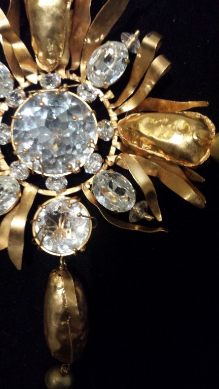 Christian Lacroix Haute Couture Brooch