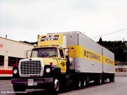 semi trucks pulling a set of doubles - Google Search