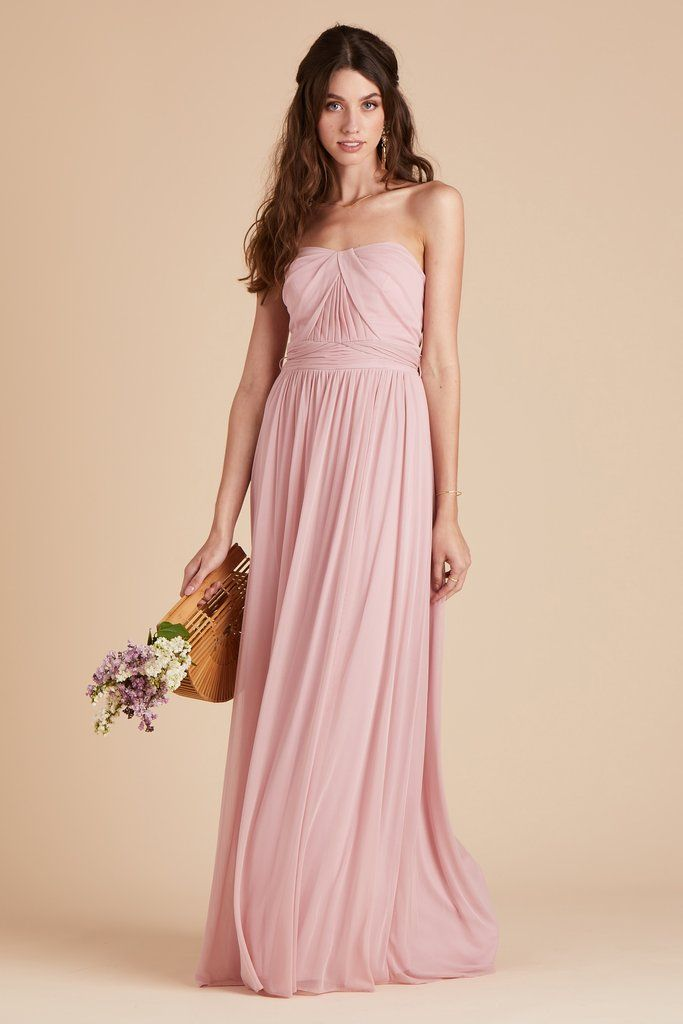 1ac21c8164f Birdy Grey Bridesmaid Dress Under  100 - Chicky Convertible Dress - Dusty  Rose - Pink -