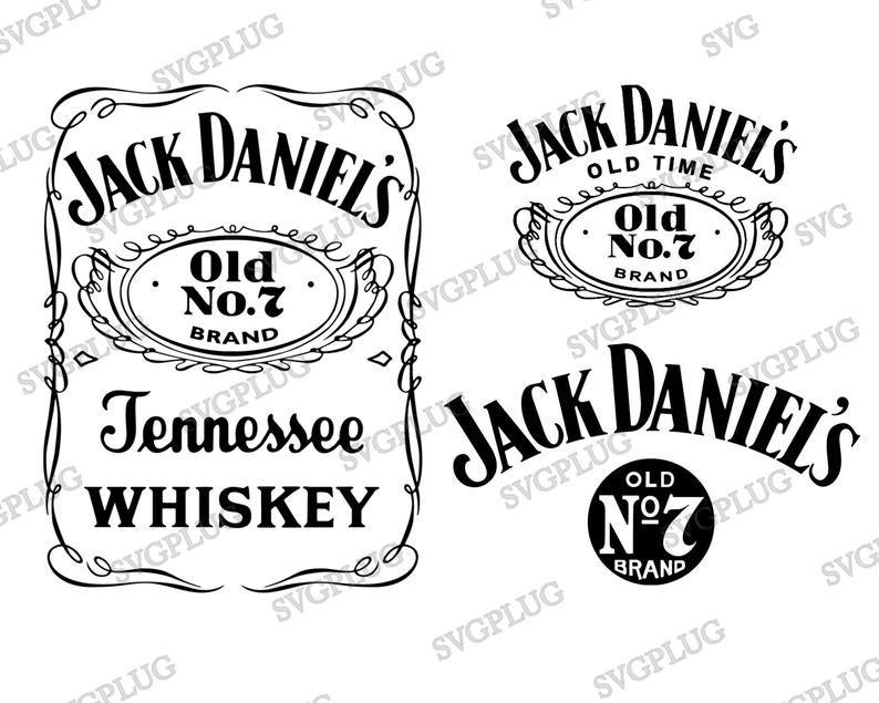 Jack Daniels Svg Eps Png Pack 3 Jack Daniels Logos Etsy In 2020 Jack Daniels Logo Jack Daniels Jack Daniels Label
