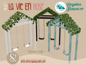 SIMcredible s La vie en rose swing leaves SEASONS required