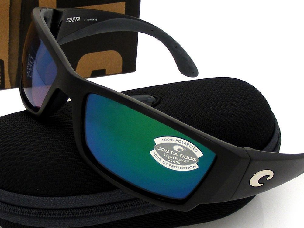 0a8f316332 NEW Costa Del Mar CORBINA Black   580 Green Mirror Glass 580G  fashion   clothing