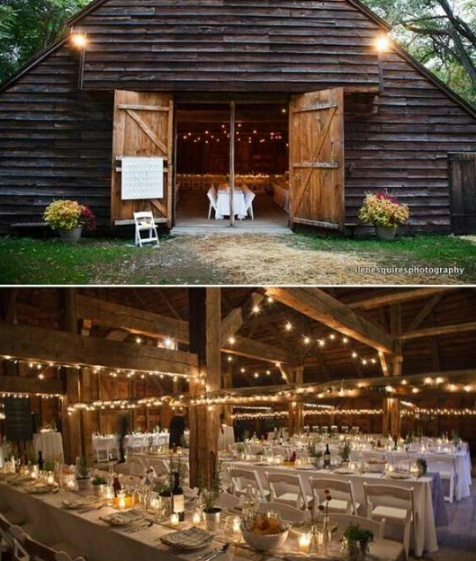 Rustic barn wedding pinspiration #barnweddings