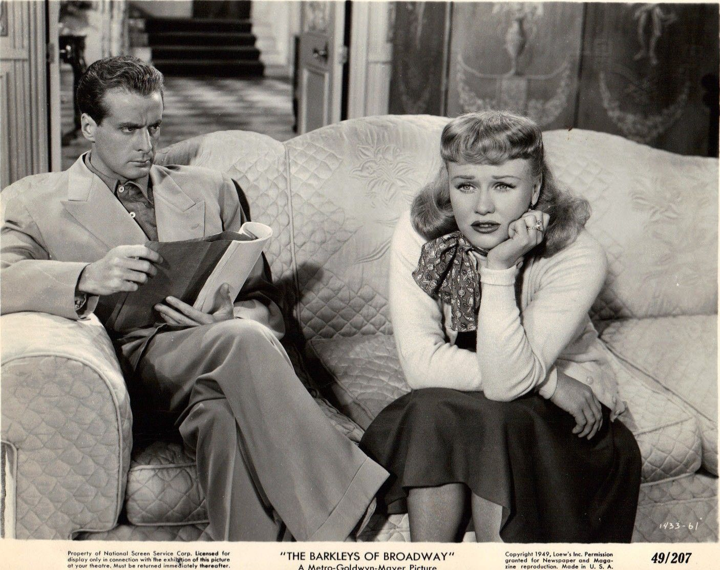 Ginger Rogers The Barkleys of Broadway 1949