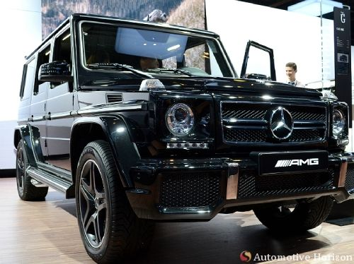 Mercedes Benz G 63 Amg Unveiled In Mumbai For A Price Of Rs 1 45 Crore
