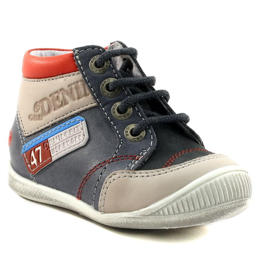 f9d677da84cf2 081A GBB PANCRACE GRIS www.ouistiti.shoes le spécialiste internet   chaussures  bébé