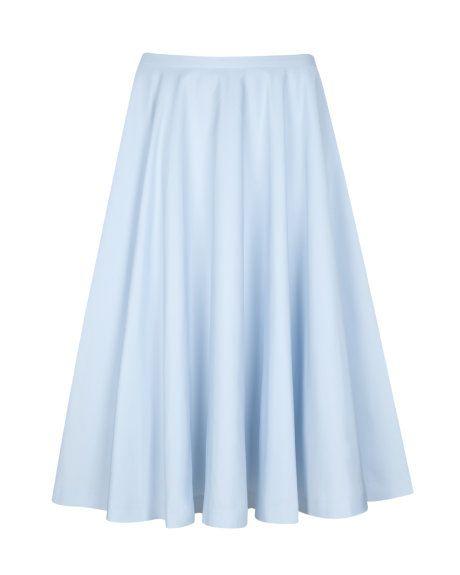 light blue skirts on