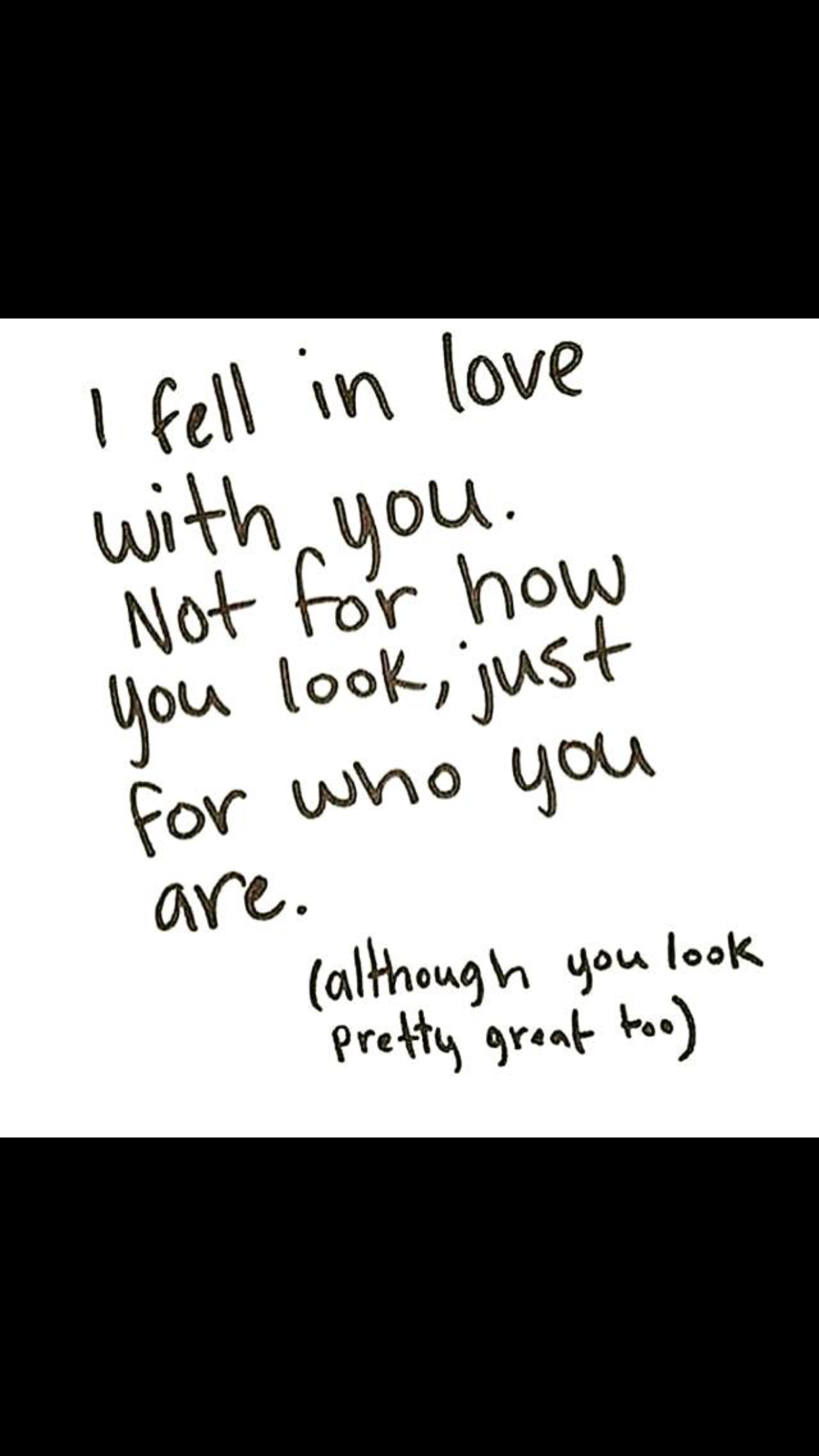 Why I love you too does not matter