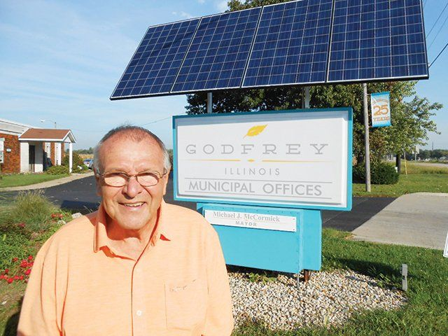 Citing Desire To Finish Projects Godfrey Mayor Plans For Third Term County Statement Godfrey