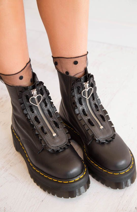 65e29fa85b4 Jungle Lazy Oaf Pisa + Softy Boot - Black | Street fashion | Boots ...