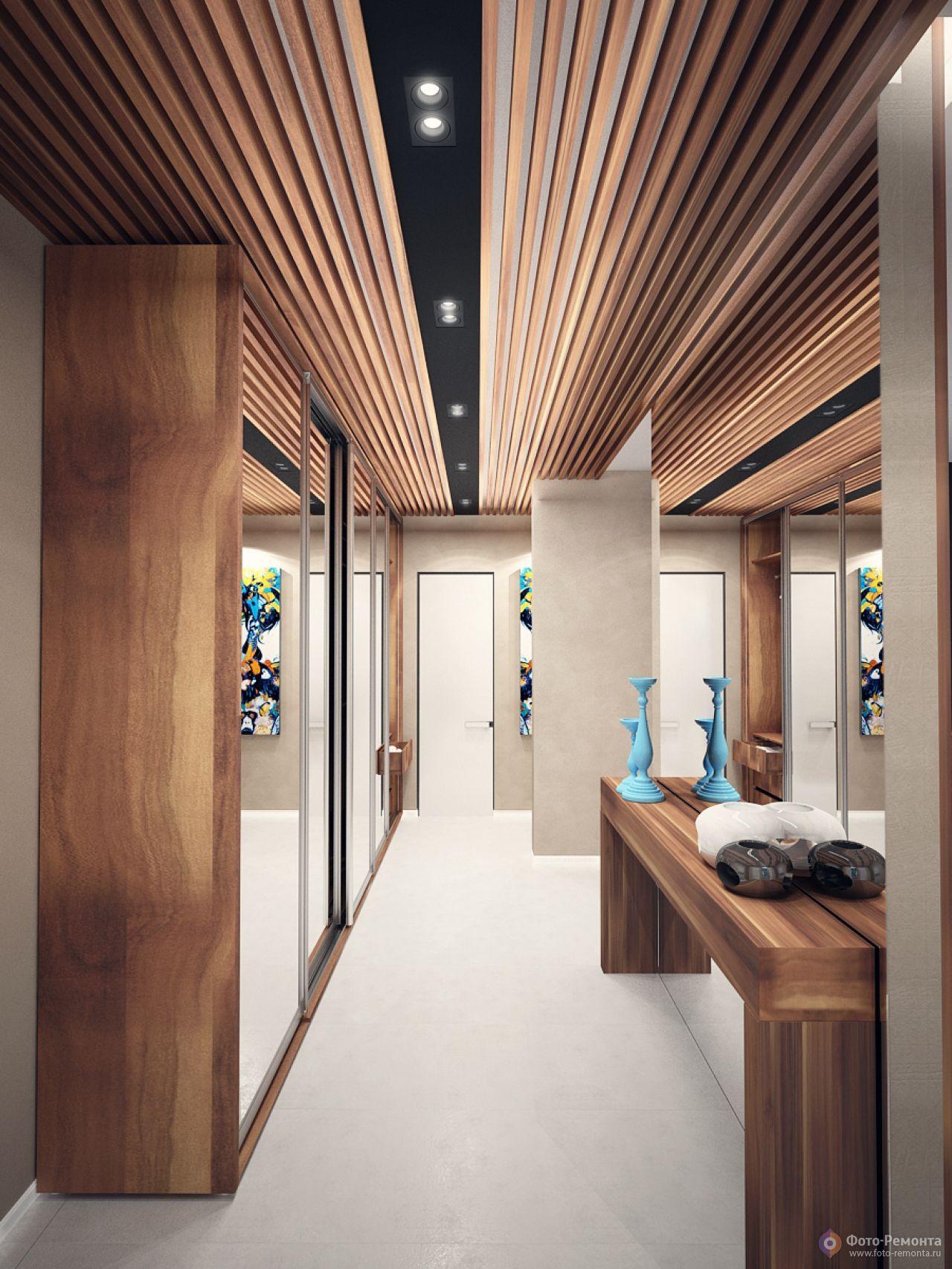стилизация чем отделать потолок в коридоре квартиры фото качество