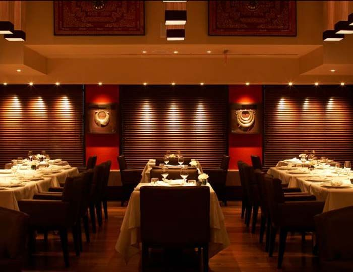 Restaurant interior design hospitality