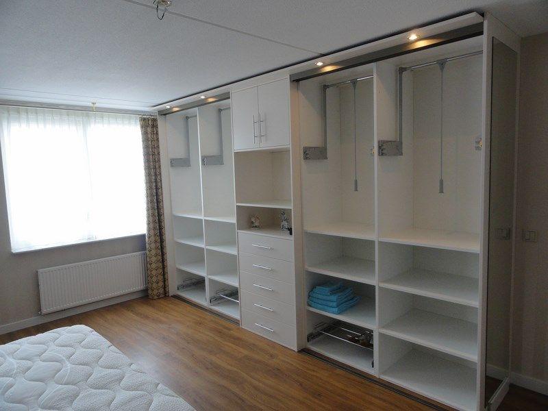 kastenwand slaapkamer schuifdeur - google zoeken - tom | pinterest, Deco ideeën