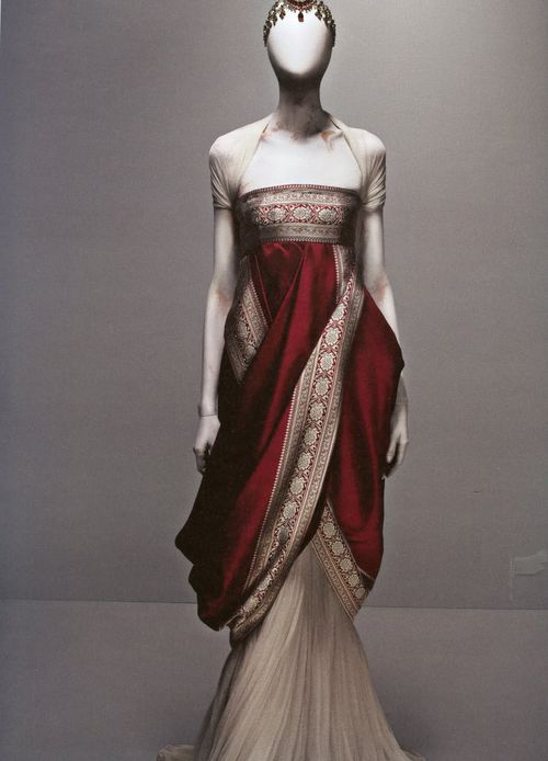 55fb11888caf6 fashion haute couture alexander mcqueen couture gown red dress Red Gown  savage beauty