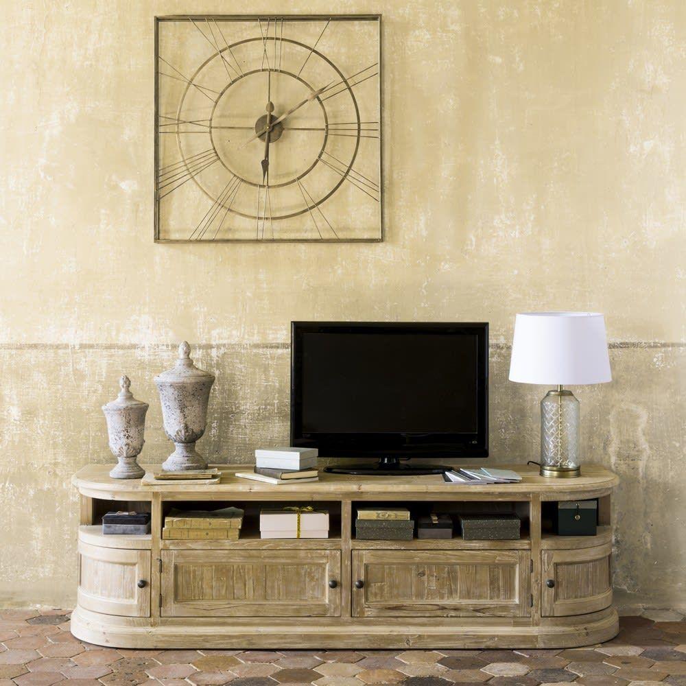 4 Turiges Tv Mobel Aus Recyceltem Kiefernholz Flaubert Maison Du Monde Idee De Decoration Meuble