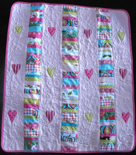 Scrap Quilting Patterns To Use Up Your Stash! | Cot quilt, Cots ... : cot quilts patterns - Adamdwight.com