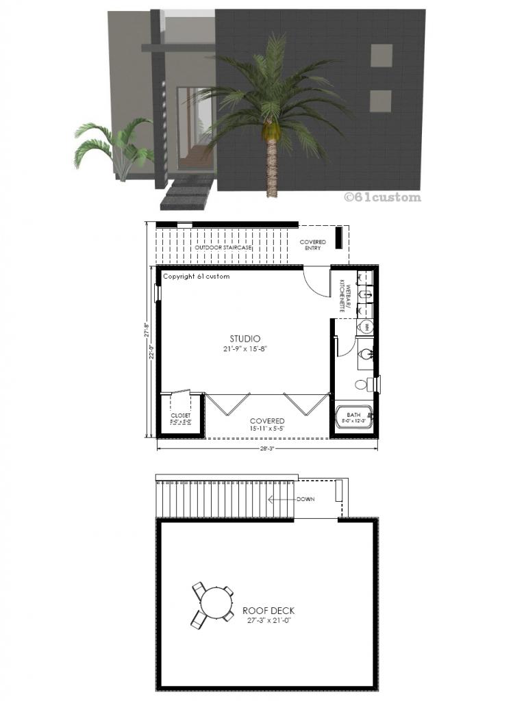 studio531: Modern Guest House Plan | 61custom | House Tiny ... on luxury small barn plans, luxury small home plans, luxury log home plans, luxury small cabin plans, luxury small apartment plans,