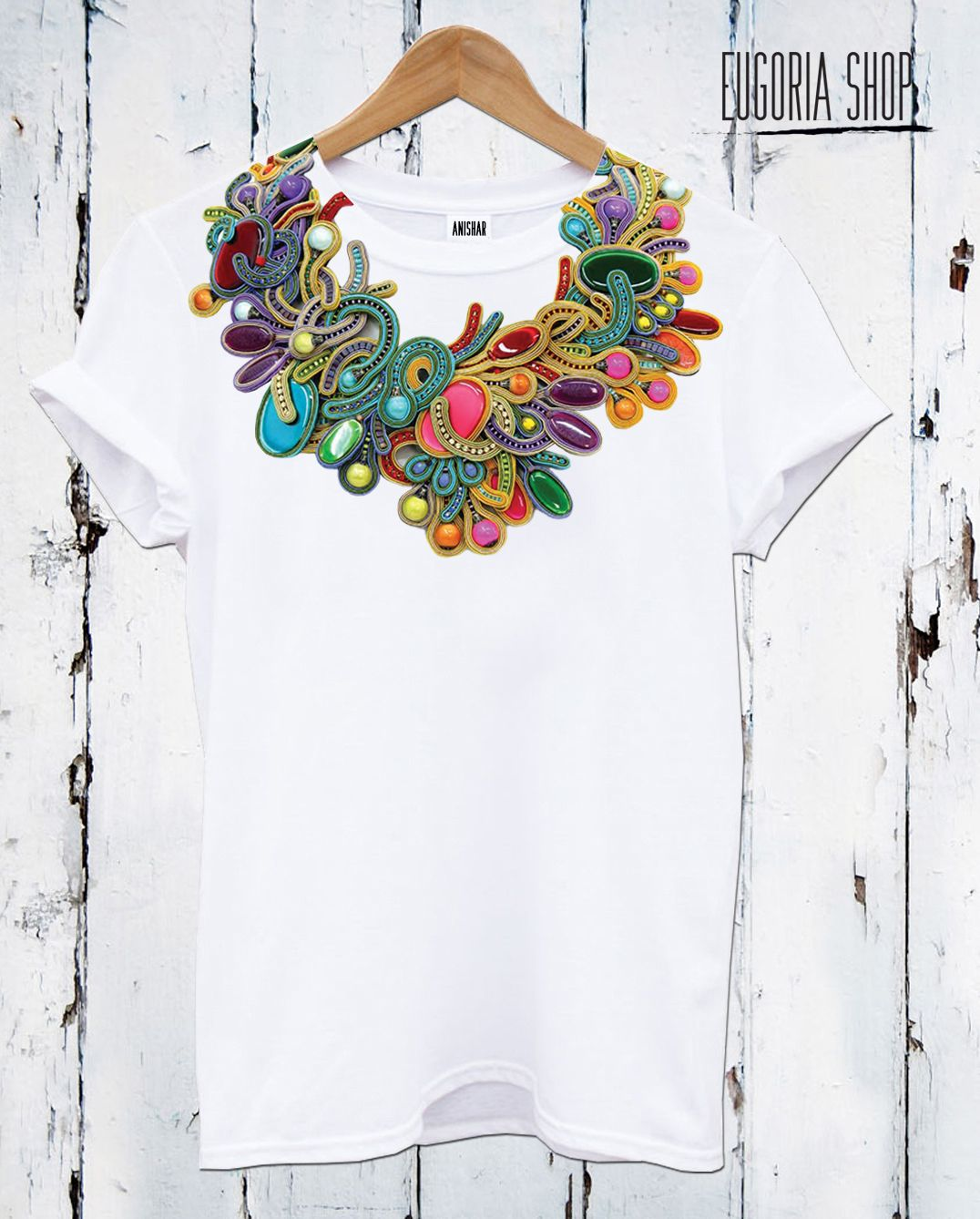 men 4x T shirt short sleeve urban Multi Stitch with applique and prints NWT