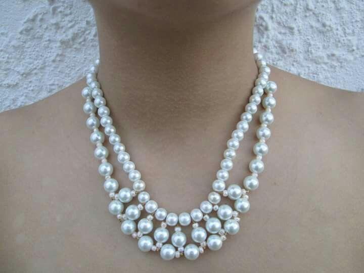 Precioso collar de perlas a 20.000 domicilio gratis en Cali