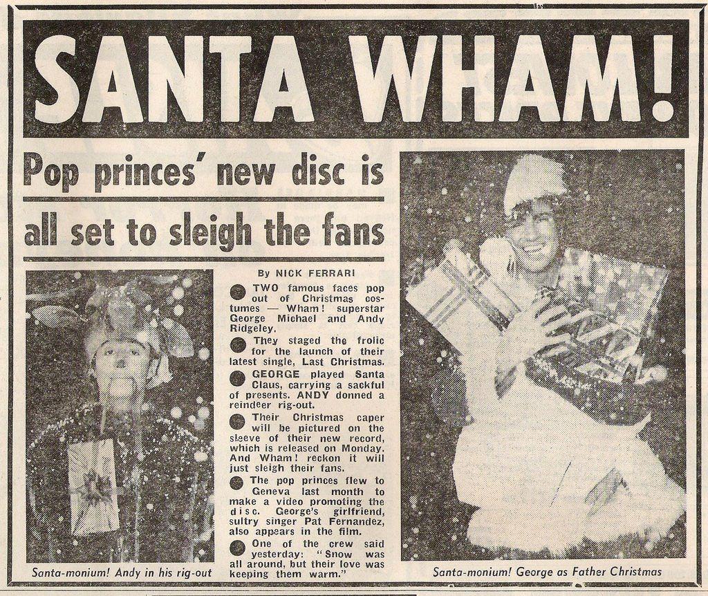 Christmas 1984 michael, michael wham,