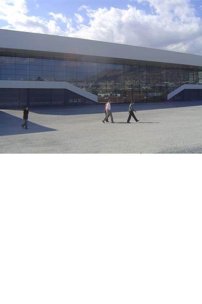 Exterior Pabellón Polideportivo Altea