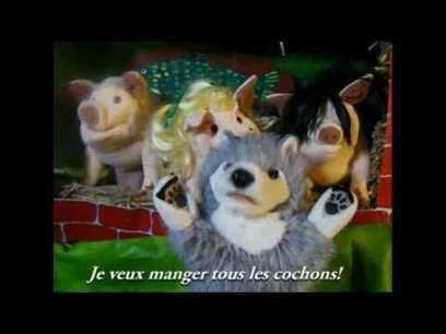 Les Trois Petits Cochons (higher res.)