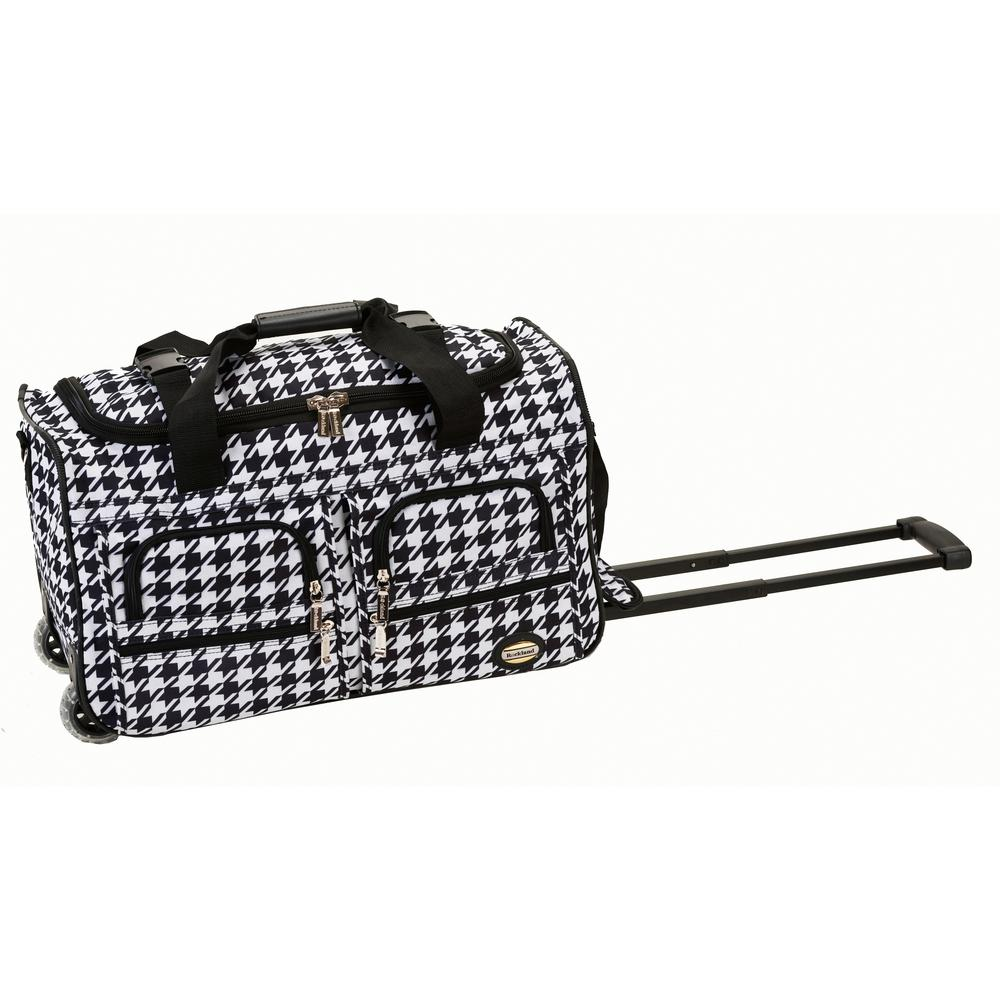83645aba145a Rockland Voyage 22 in. Rolling Duffle Bag